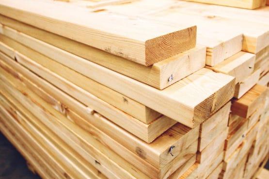 A close up of timber blocks